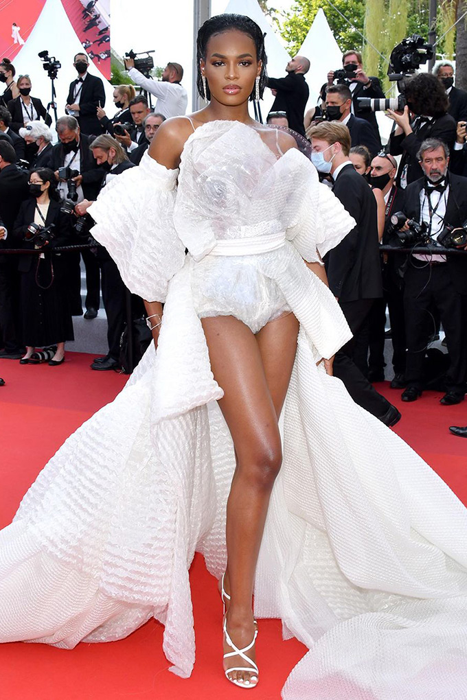 Didi Stone in Jean Paul Gaultier at Cannes Film Festival 2021