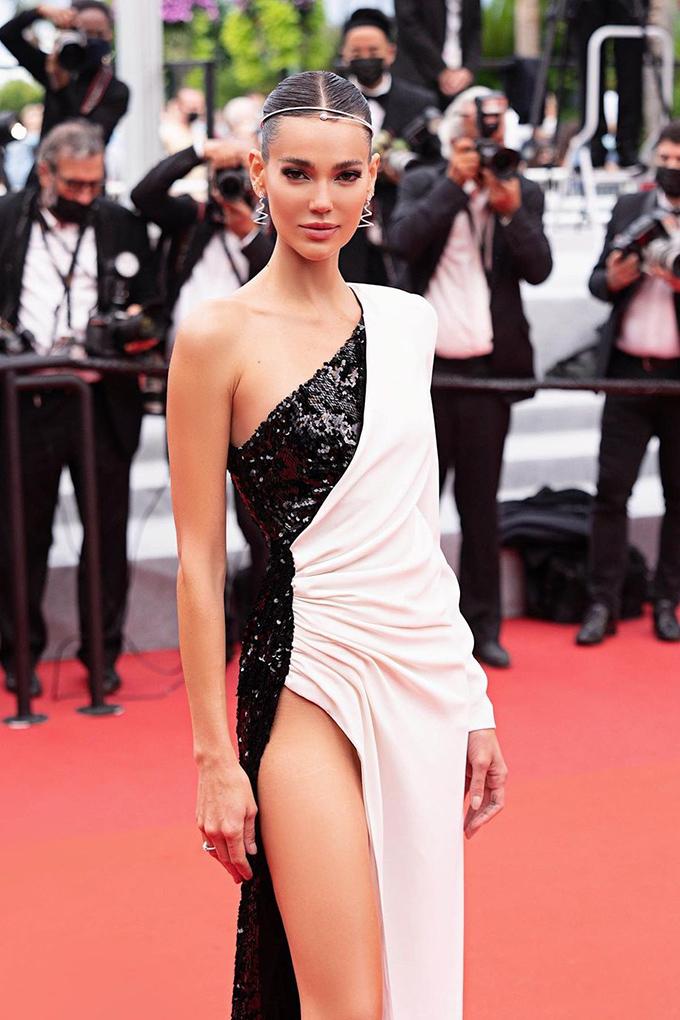 Mari Fonseca in Pinko at Cannes Film Festival 2021