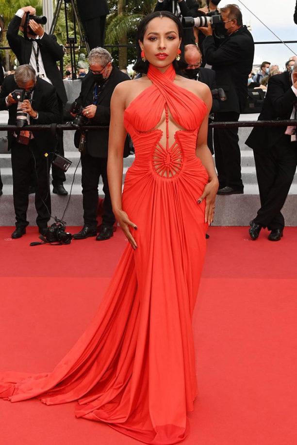 Kat Graham in Nicolas Jebran at Cannes Film Festival 2021