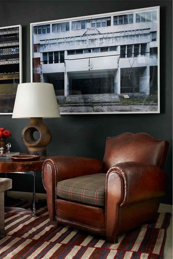 Fernando Garcia Leather Chair