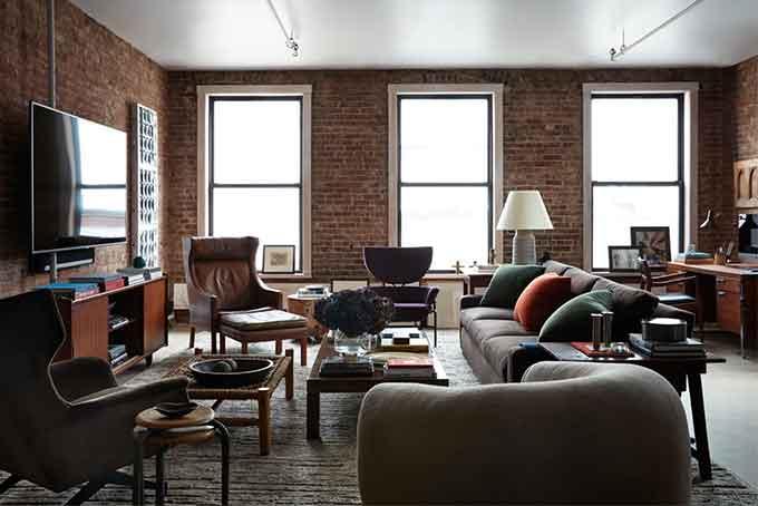 Fernando Garcia living room