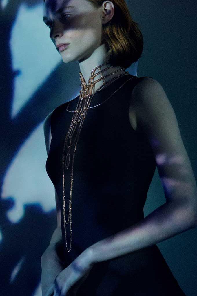 Hermès Lignes Sensibles Ondes Mirroir necklace
