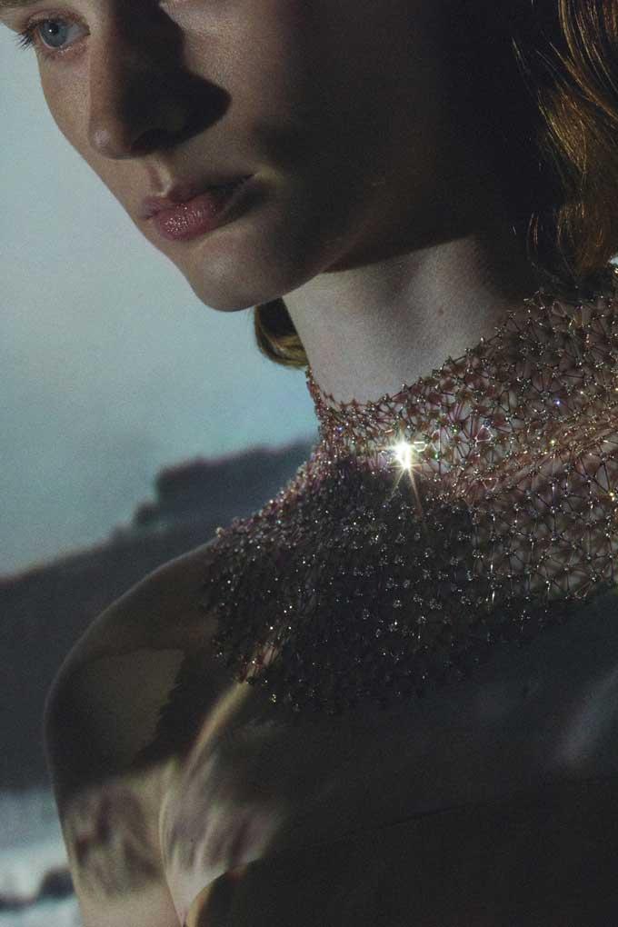 Hermès Lignes Sensibles Contre La Peau necklace
