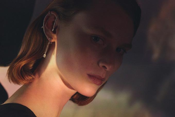 Hermès Lignes Sensibles Reseau Lumiere earring