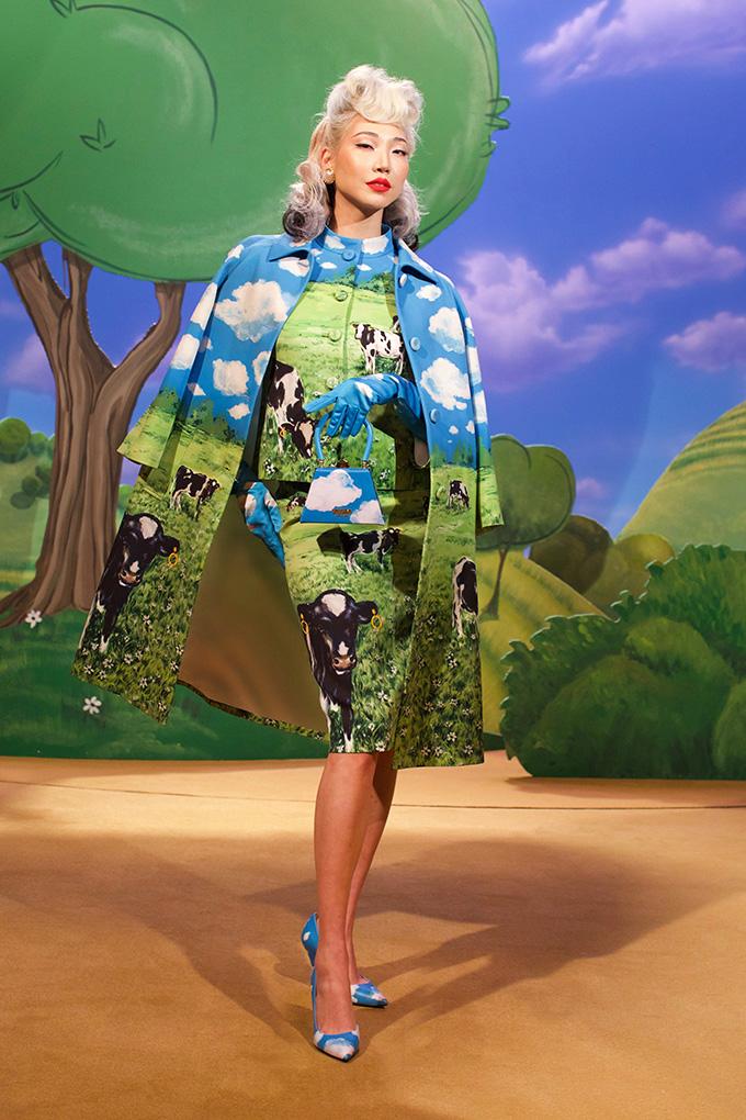 fashion nature Moschino autumn-winter 2021
