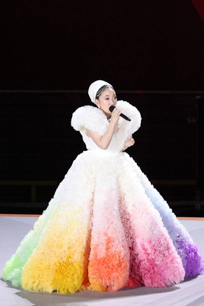 tokyo olympics opening ceremony dress cover