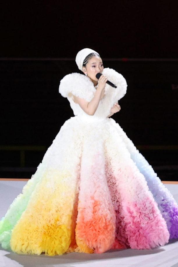 tokyo olympics opening ceremony dress new