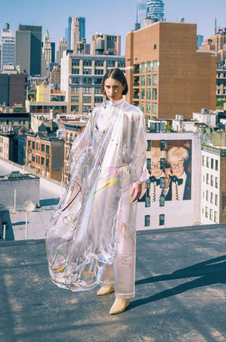 'iridescence', the world's first-ever NFT fashion creation