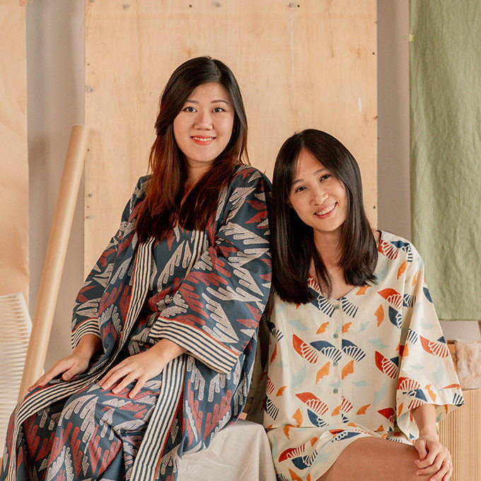 Nost is one Asian designer promoting sustainable fashion