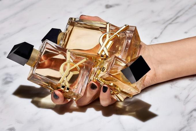 Vogue Singapore 2021 - YSL Beauty Libre fragrance perfume dua lipa