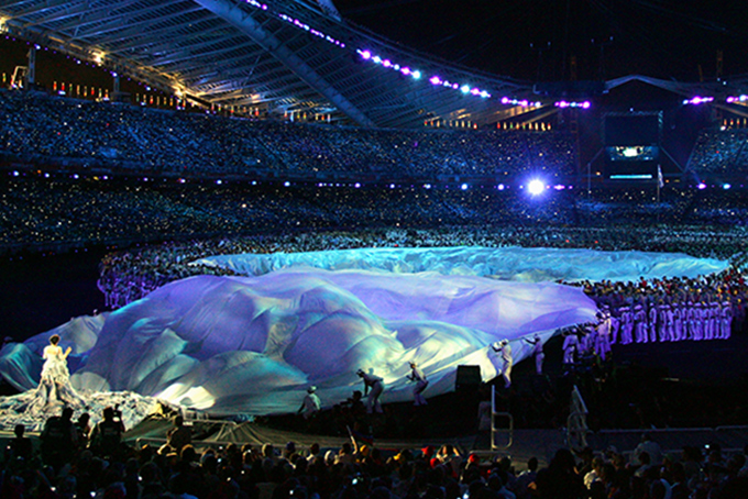 Bjork at the 2004 Athens Olympics