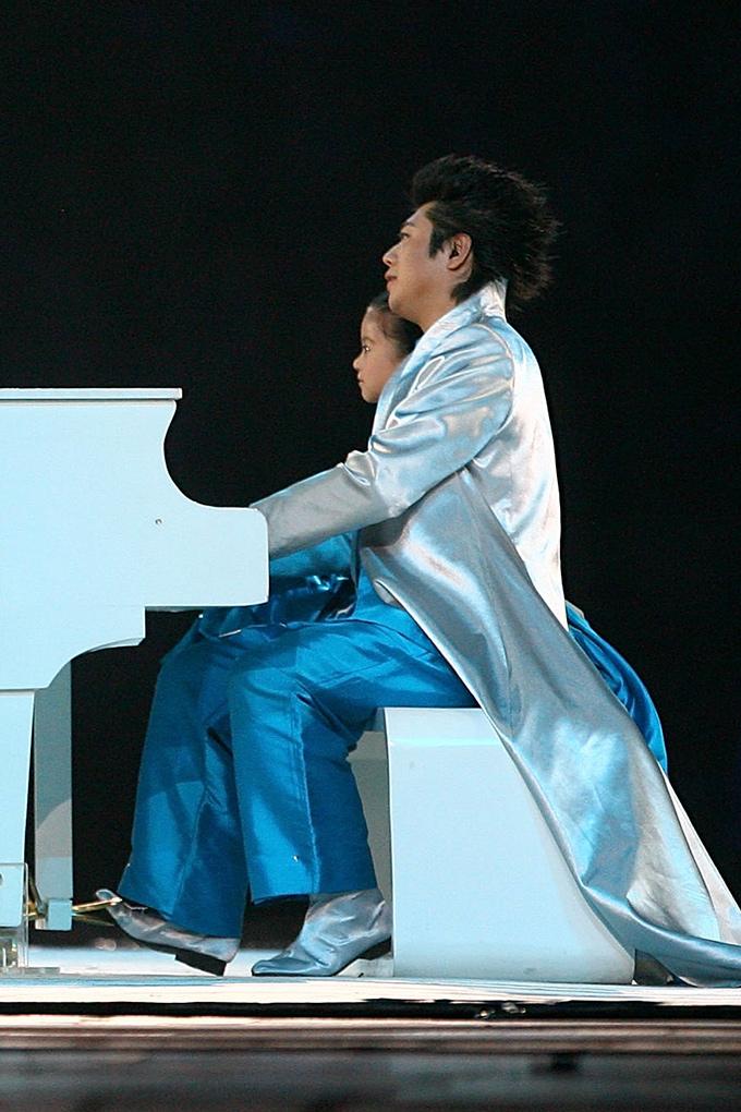 Lang Lang at the 2008 Beijing Olympics
