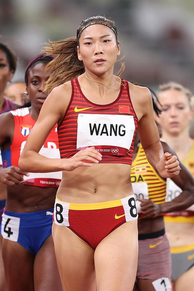 Wang Chunyu at the Tokyo Olympics