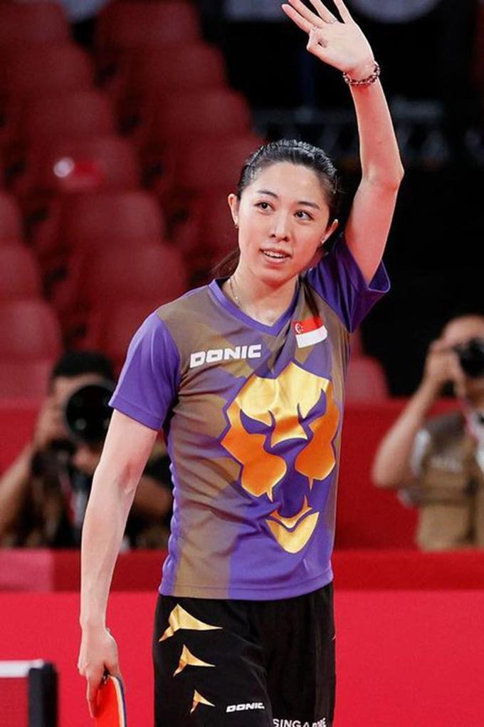 Yu Mengyu at the Tokyo Olympics