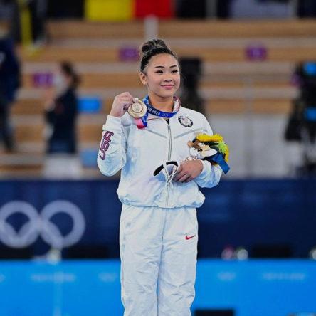 Sunisa Lee at the Tokyo Olympics