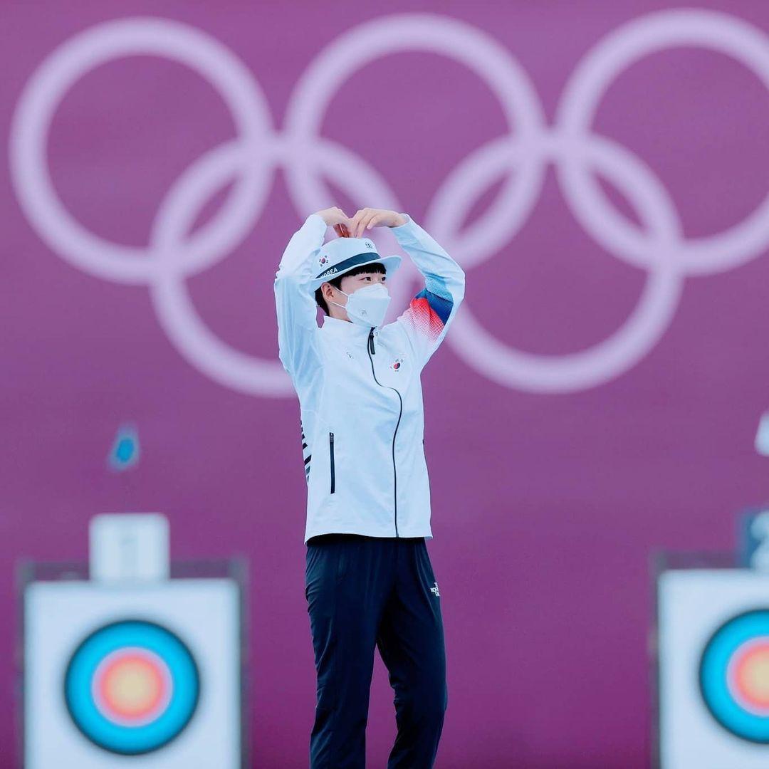 An San at Tokyo Olympics