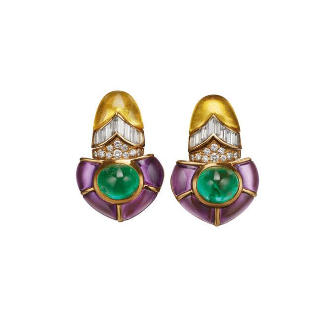 House of Gucci Bulgari earrings