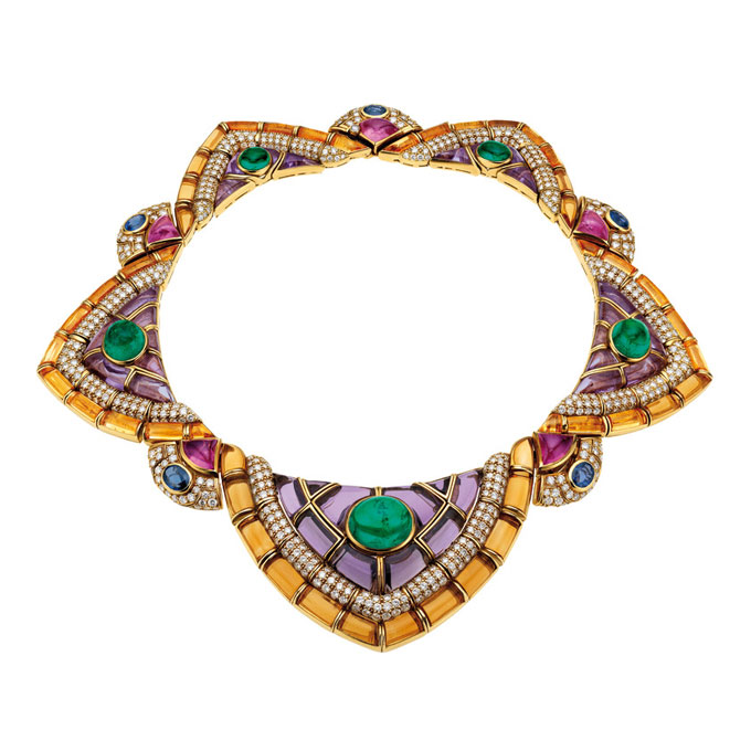 House of Gucci Bulgari necklace