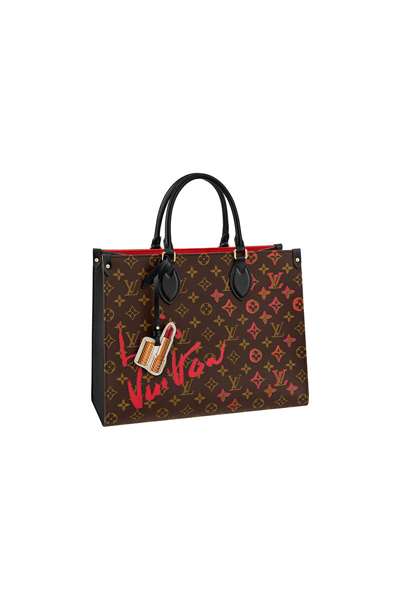 Chinese Valentine's Day Louis Vuitton OnTheGo MM Tote Bag