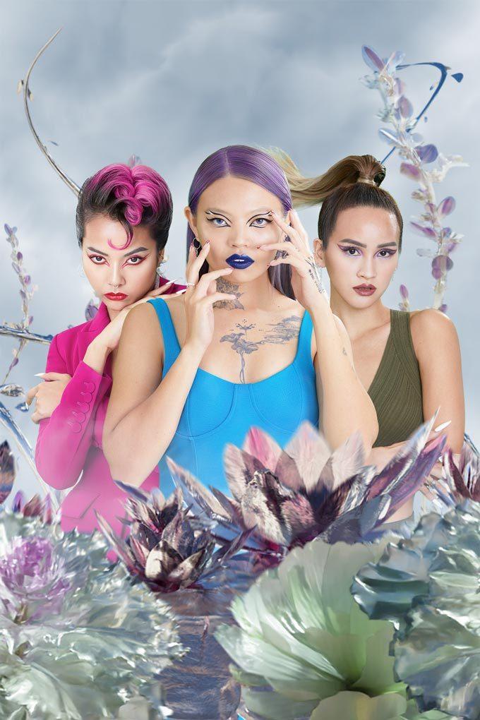 Vogue Singapore 2021 - KVD Beauty Epic Kiss Nourishing Vegan Lipstick Aisyah Aziz Hanya Seah Ng See Min