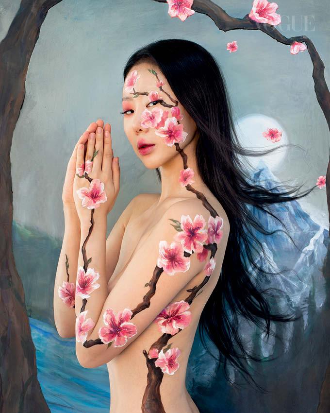 Vogue Singapore 2021 - Dain Yoon Korean artist nft beauty september new beginnings
