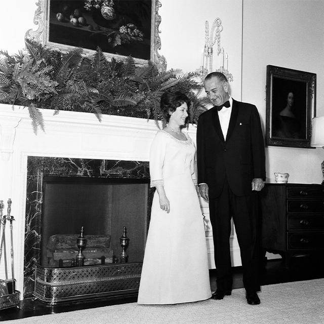 Princess Margaret Lyndon Johnson
