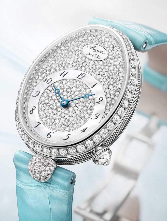 Pastel watch trend breguet