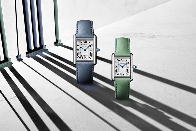 Pastel watch trend cartier