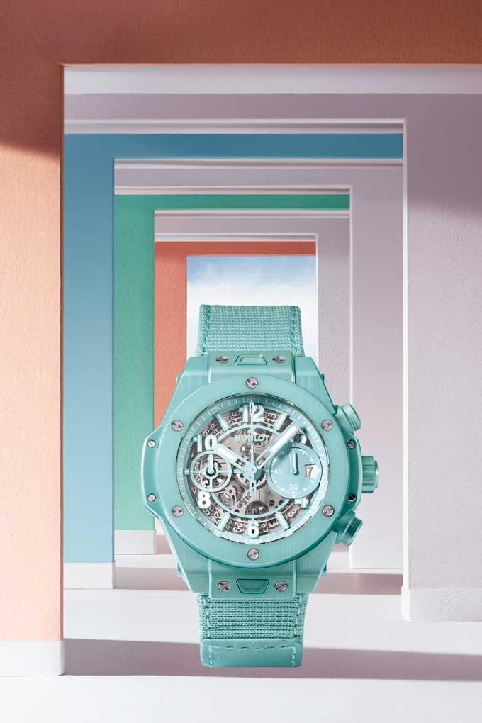 Pastel watch trend hublot