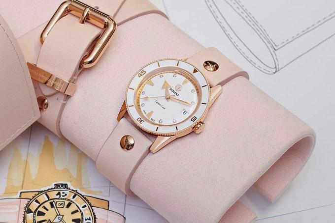 Pastel watch trend rado