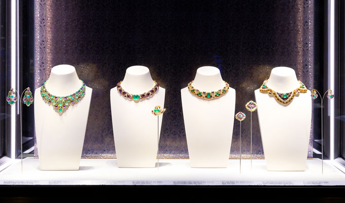 Bulgari Colours exhibition Seoul exhibits