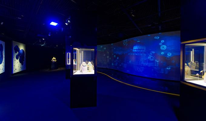 Bulgari Colours exhibition Seoul blue