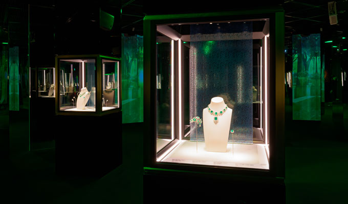 Bulgari Colours exhibition Seoul green