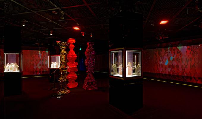 Bulgari Colours exhibition Seoul red