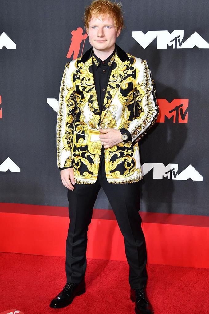 Ed Sheeran in Versace