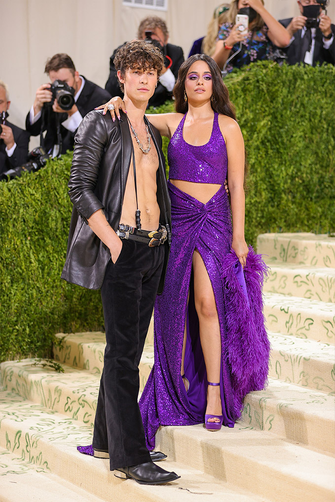Shawn Mendes and Camila Cabello Met Gala 2021