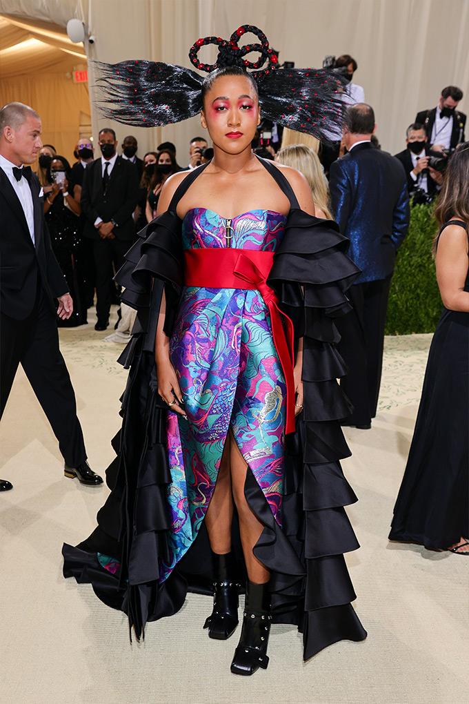 Naomi Osaka in Louis Vuitton