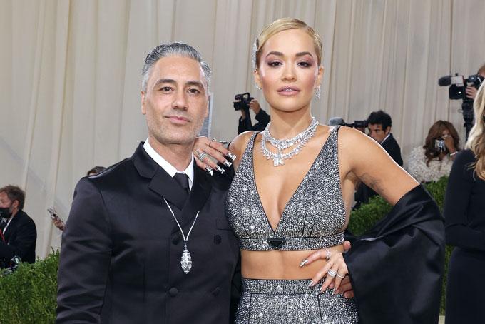 Met Gala jewellery Taika Waititi Rita Ora