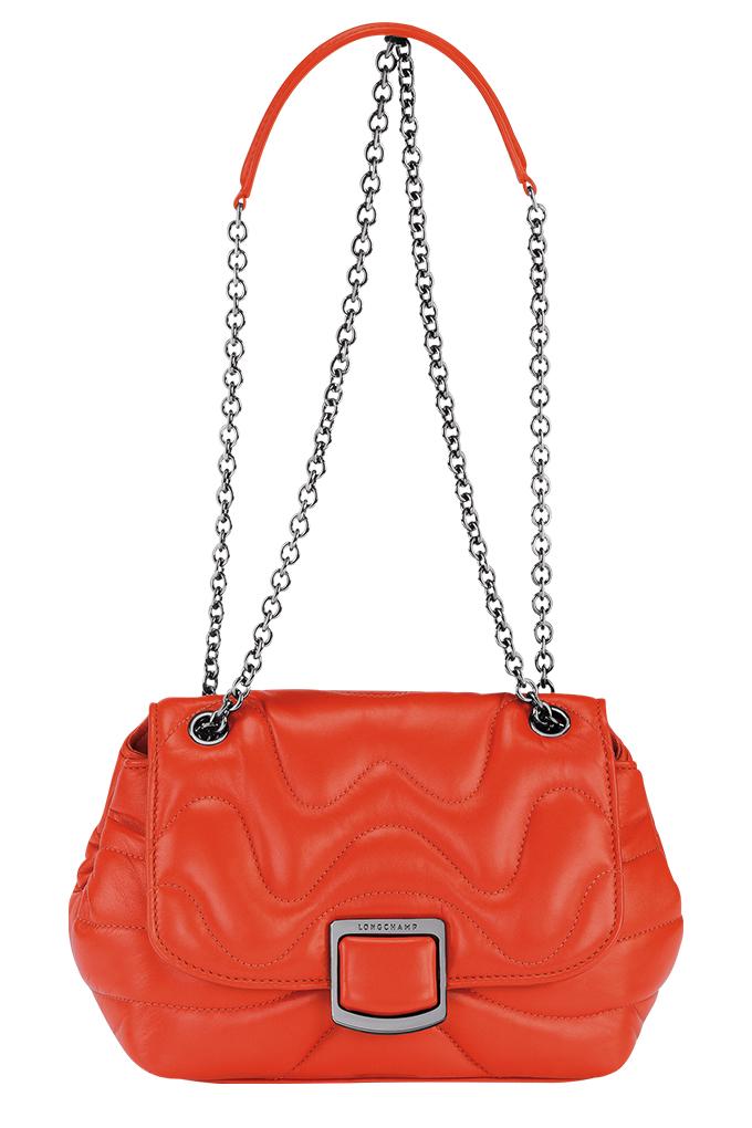 Brioche Cocoon Crossbody Bag Small in Orange_SGD1235