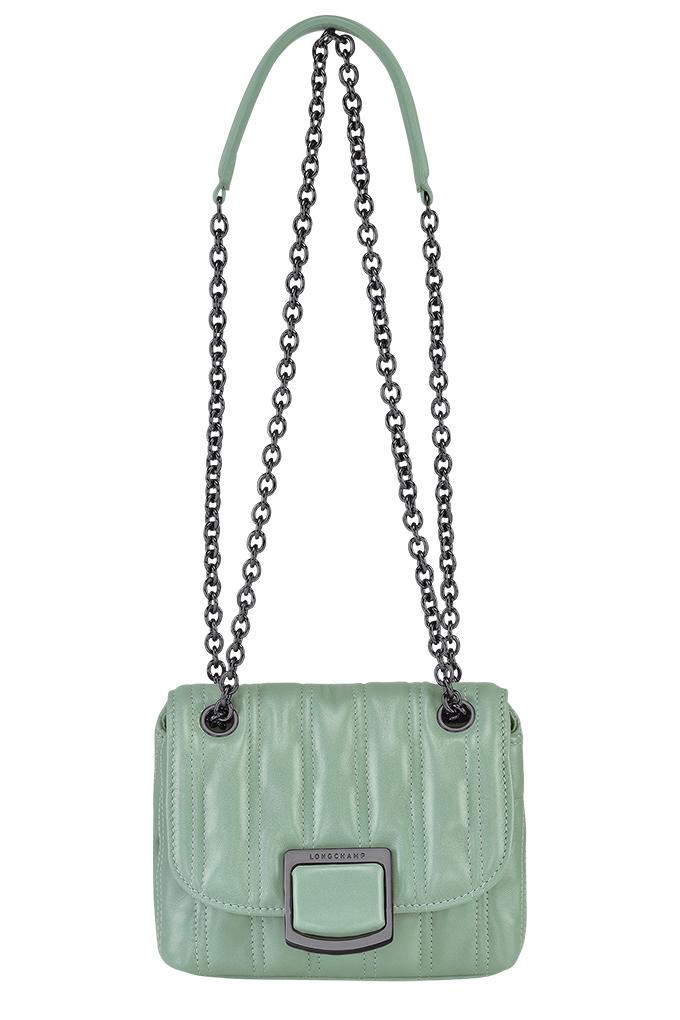 Brioche Crossbody Bag XS in Jade_SGD1090