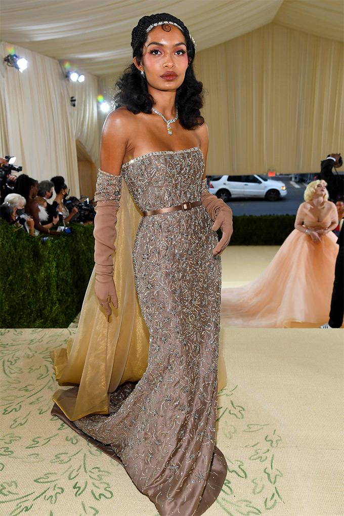 Yara Shahidi in Dior
