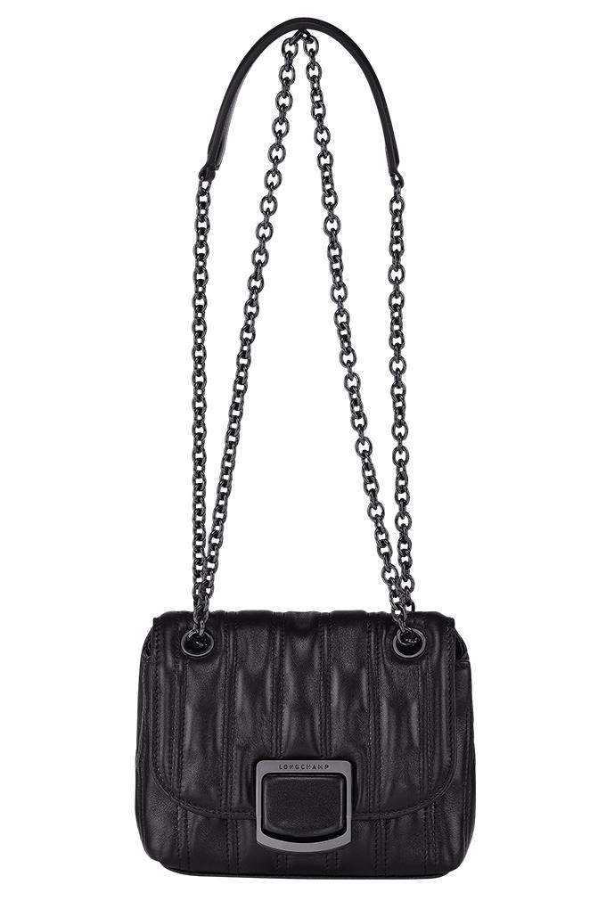Brioche Crossbody Bag XS in Black_SGD1090