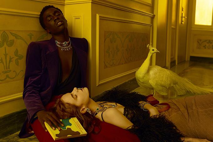 Kristen McMenamy Gucci Aria Campaign 5