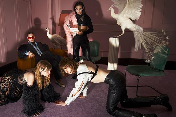 Kristen McMenamy Gucci Aria Campaign 3