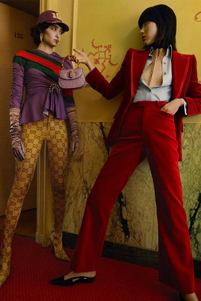 Kristen McMenamy Gucci Aria Campaign 1
