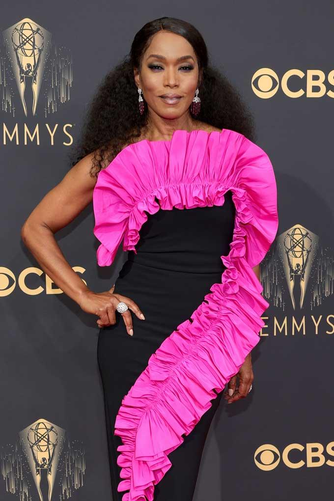 Emmy Awards jewellery Angela Bassett