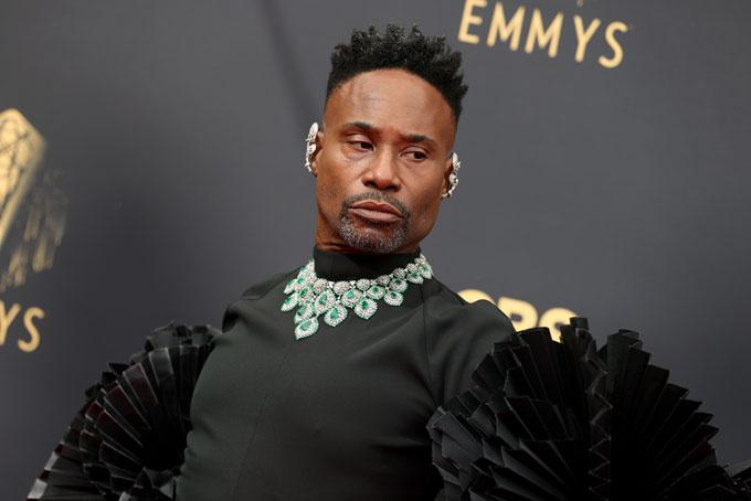 Emmy Awards jewellery Billy Porter