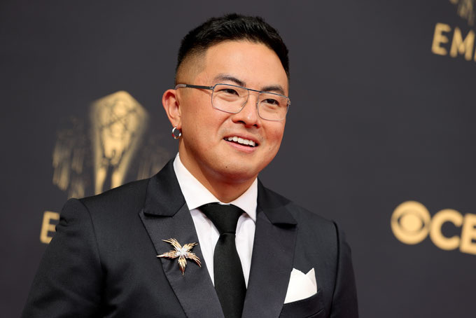 Emmy Awards jewellery Bowen Yang