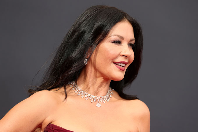 Emmy Awards jewellery Catherine Zeta Jones