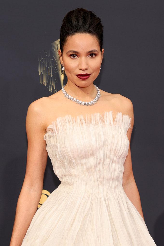 Emmy Awards jewellery Jurnee Smollett